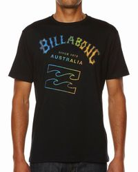 Billabong | Black Iconic T-shirt for Men | Lyst