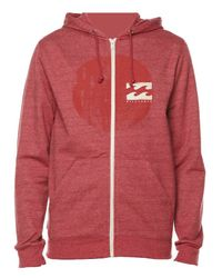 Billabong | Red Hightide Hoodie for Men | Lyst