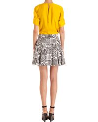 Maiyet - Gray Printed Skirt - Lyst