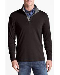 Michael Kors   Brown Fleece Long Sleeve Top for Men   Lyst