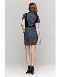Sea - Black Eyelet & Lace Popover Dress - Lyst