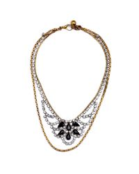 Lulu Frost - Black New Heirloom Necklace 4 - Lyst