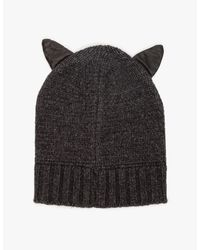 Need Supply Co. - Black Kitty Hat - Lyst