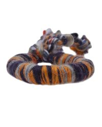 The Elder Statesman - Multicolor Cashmere Bracelet - Lyst