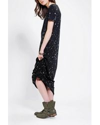 Urban Outfitters - Black Staring At Stars T-shirt Maxi Dress - Lyst