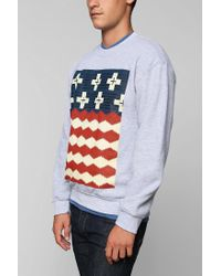 Urban Outfitters - Gray Pendleton Brave Star Pullover Sweatshirt for Men - Lyst