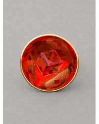 Atelier Swarovski - Red Crystal Ring - Lyst