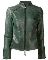 Beryll | Green Leather Jacket | Lyst