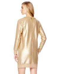 Michael Kors - Chainneck Metallic Dress - Lyst