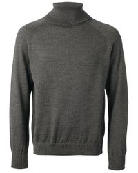 Our Legacy - Gray Roll Neck Sweater for Men - Lyst