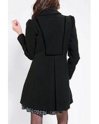 Urban Outfitters - Black Jack By BB Dakota Buckingham Lady Coat - Lyst