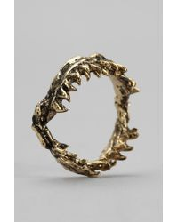 Urban Outfitters | Metallic Obey Shark Jaw Ring | Lyst