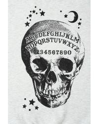 Urban Outfitters   Gray Ouija Skeleton Pullover Sweatshirt   Lyst