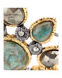 Alexis Bittar | Metallic Jardin De Papillon Mosaic Goldplated Earrings | Lyst