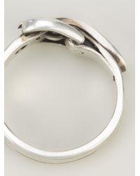 Ann Demeulemeester - Metallic Belt Ring for Men - Lyst