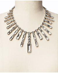 Ann Taylor | Metallic Sunburst Statement Necklace | Lyst