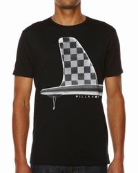Billabong | Black Fin Ditch T-shirt for Men | Lyst
