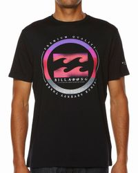 Billabong | Black Format T-shirt for Men | Lyst