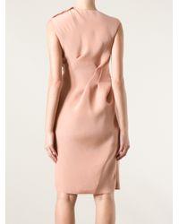 Lanvin - Pink Sleeveless Dress - Lyst