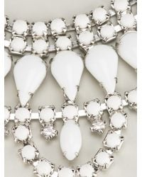 Tom Binns | White Crystal Necklace | Lyst
