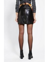 Urban Outfitters - Black Anchal X Urban Renewal Leather Skirt - Lyst