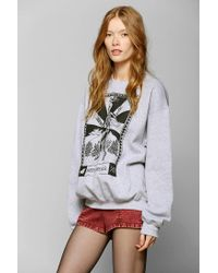 Urban Outfitters | Gray Glamour Kills Party Forever Pullover Sweatshirt | Lyst