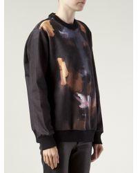 Givenchy - Black Doberman Print Sweatshirt - Lyst