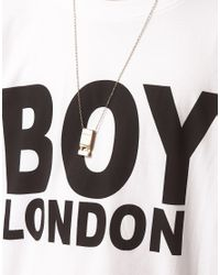 Pepe Jeans - White Boy London Logo Tshirt for Men - Lyst