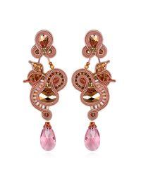 Dori Csengeri | Pink Large Beverly Earrings | Lyst