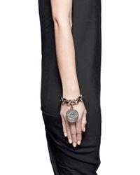 Givenchy | Metallic Small Medallion Chain Bracelet | Lyst