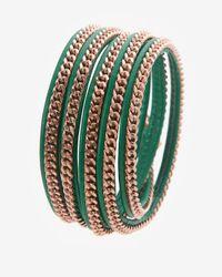 Vita Fede | Green Wrap Bracelet Emeraldrosegold | Lyst