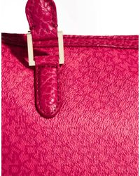 DKNY Active - Pink Coated Logo Zip Top Shopper Bag - Lyst