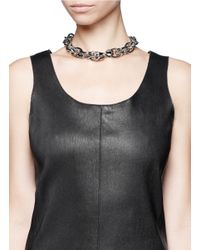 Givenchy - Metallic Layered Chain Necklace - Lyst