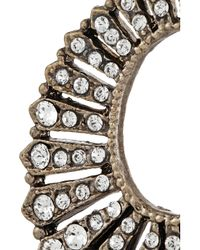 Lulu Frost - Metallic Roma Crystal-Embellished Earrings - Lyst