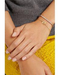 Pippa Small - Metallic 18karat Gold Multi-Stone Bracelet - Lyst