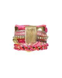 Hipanema | Pink Bracelet Imperial | Lyst