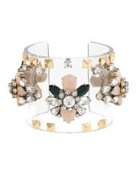 J.Crew - Multicolor Jeweled Cuff - Lyst