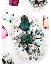 Shourouk - Multicolor Melancholia Embellished Bib Necklace - Lyst