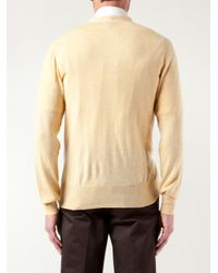 Vivienne Westwood - Yellow Slouchy Pockets Cardigan for Men - Lyst