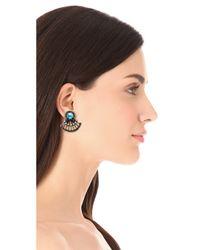 Auden - Blue Coralia Earrings - Lyst