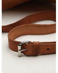 Free People | Brown Hazel Pocket Belt | Lyst