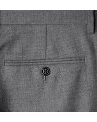 J.Crew - Gray Bowery Slimfit Wool Trousers for Men - Lyst