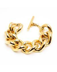 Ben-Amun | Metallic Gold Chain Link Bracelet | Lyst