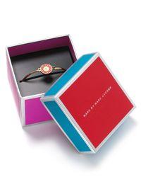 Marc By Marc Jacobs - Red Skinny Bracelet - Lyst