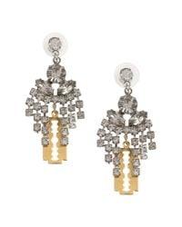 Tom Binns - Metallic Earrings - Lyst