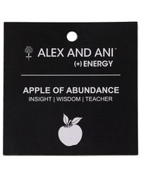 ALEX AND ANI - Metallic Abundance Apple Bangle - Lyst
