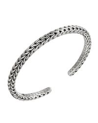 John Hardy | Metallic Classic Chain Silver Bangle | Lyst