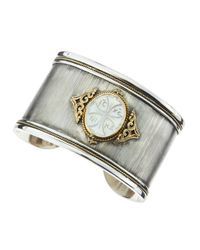 Konstantino | White Athena Motherofpearl Cuff | Lyst