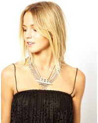 Fred Perry - Metallic Asos Chainmail Spear Necklace - Lyst