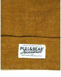 Pull&Bear - Brown Bobble Hat for Men - Lyst